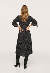 Mango - Maxi dress - zwart - 2