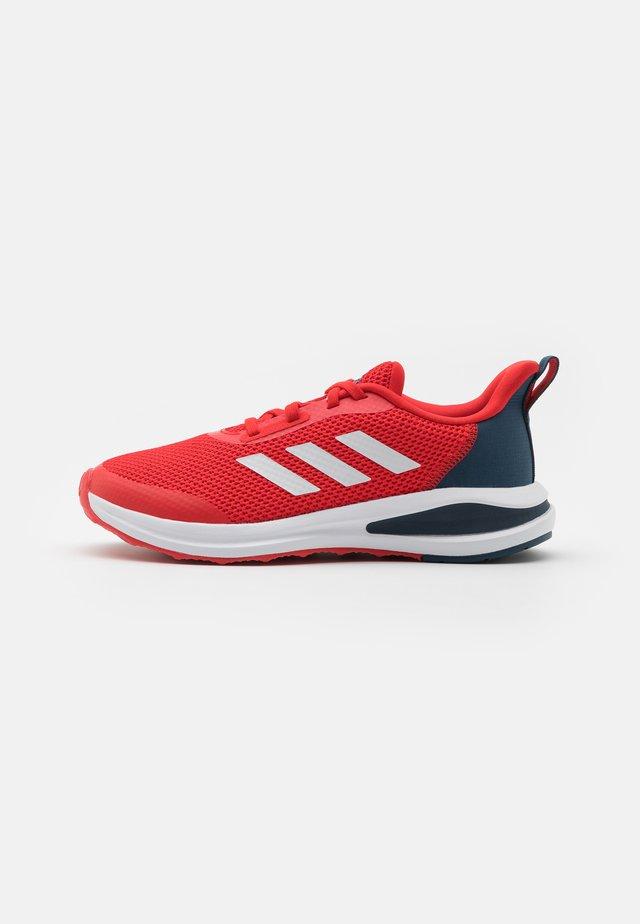 FORTARUN UNISEX - Neutral running shoes - vivid red/footwear white/crew navy
