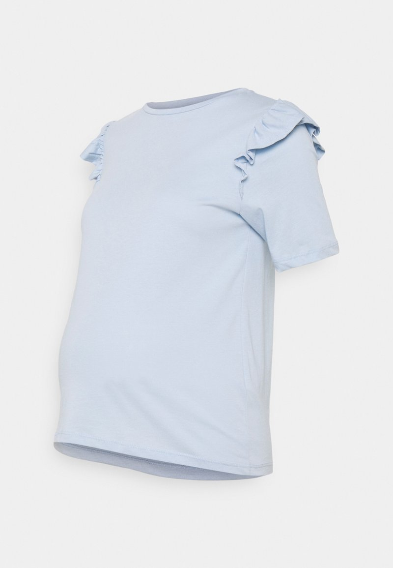 Pieces Maternity - PCMTILDE - Basic T-shirt - kentucky blue