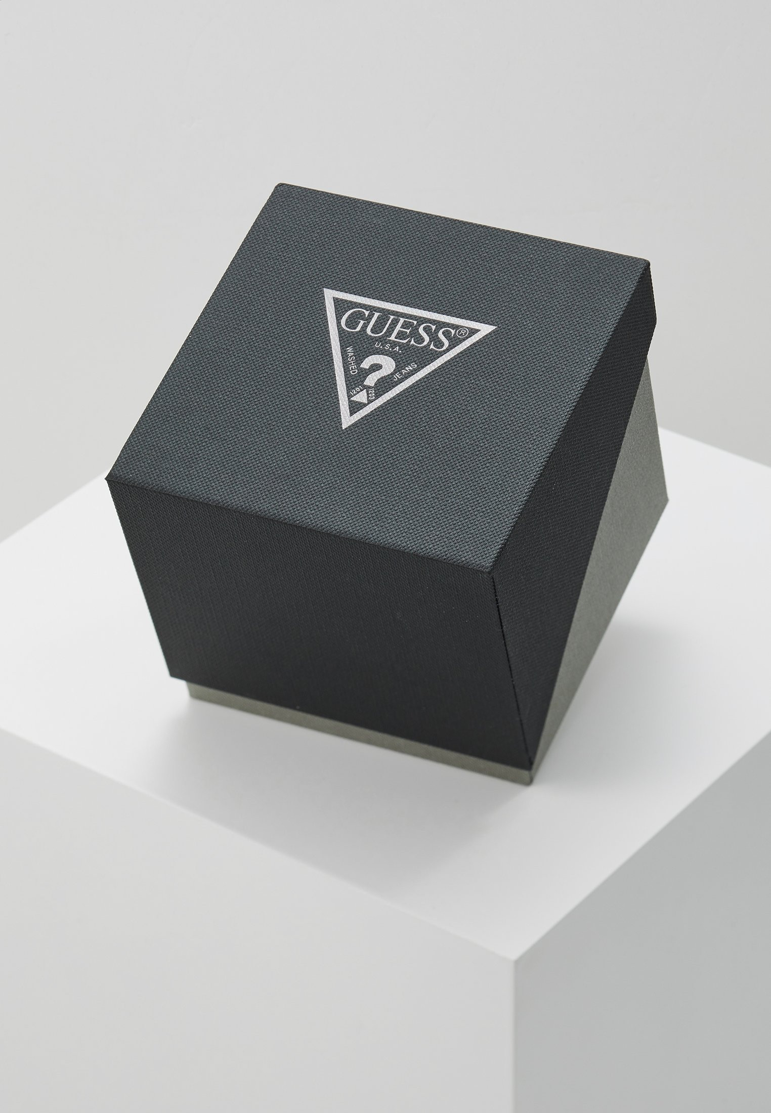 Guess DRESS MULTIFUNCTION - Kronografklokke - black/silver-coloured/svart usZweo2V23ZtaNc
