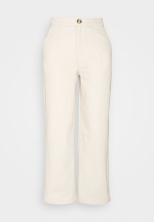 MABEL TROUSERS - Bukse - white dusty light flex