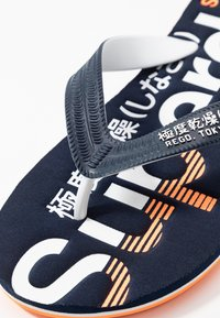 Superdry - CLASSIC  - T-bar sandals - navy - 5