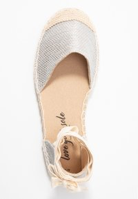 New Look - MOON - Espadrilles - silver - 3