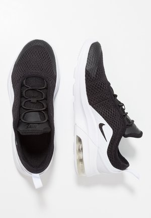AIR MAX MOTION 2 - Loaferit/pistokkaat - black/white