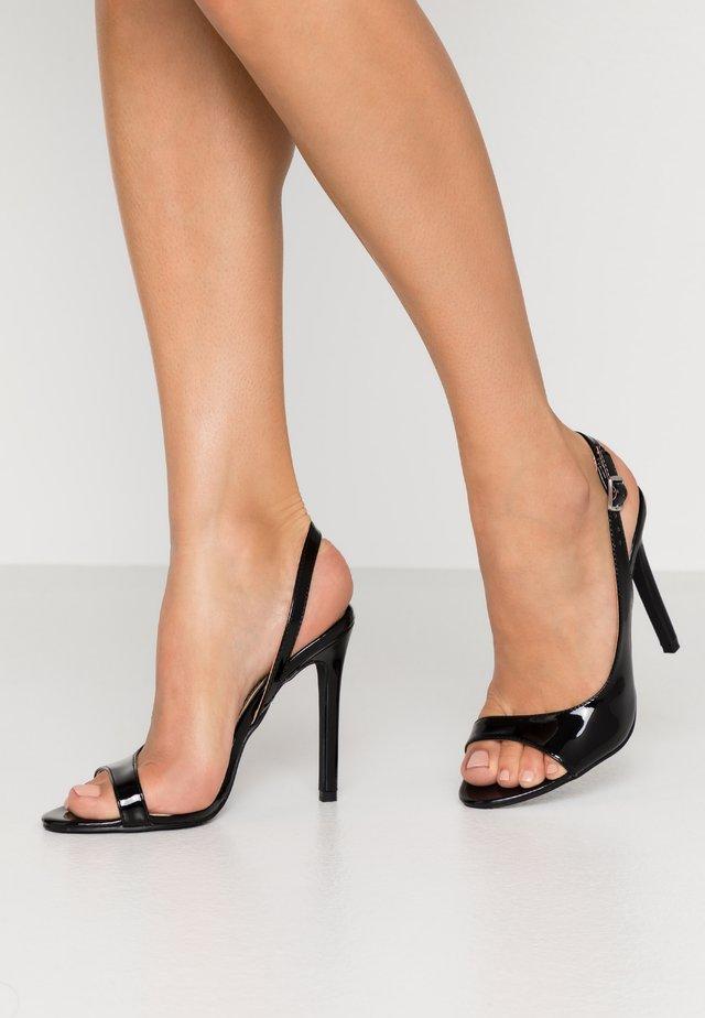 BRISA - Sandály na vysokém podpatku - black