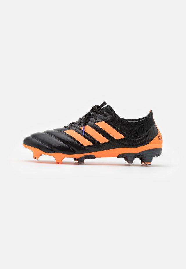 COPA 20.1 FOOTBALL FIRM GROUND - Kopačky lisovky - clear black/signal orange/energy ink