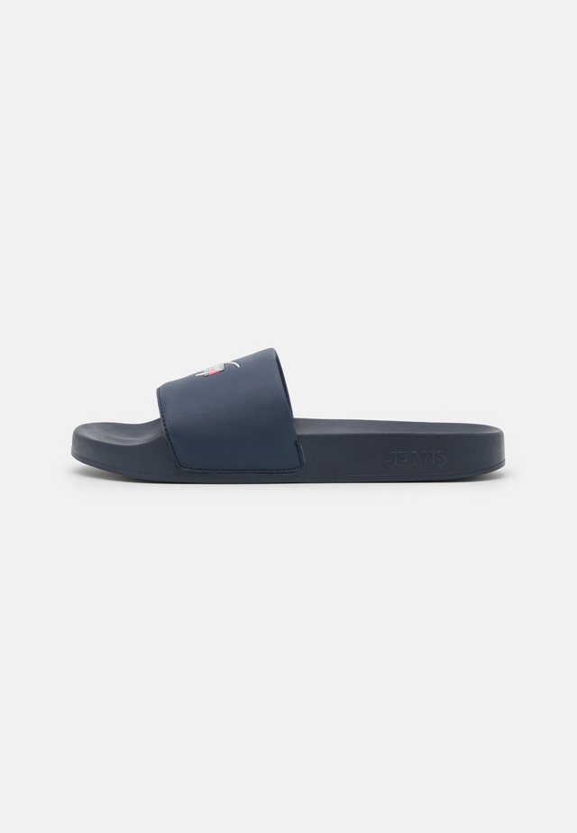 ESSENTIAL POOL SLIDE - Muiltjes - twilight navy