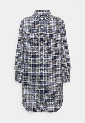 NAMI LONG - Button-down blouse - dark blue/navy