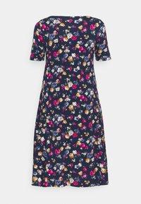 Lauren Ralph Lauren Woman - MUNZIE CASUAL DRESS - Sukienka z dżerseju - lauren navy/multi - 1