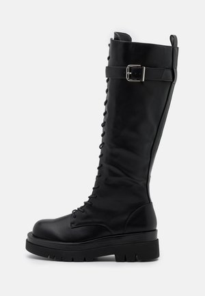 KINETIC - Platform boots - black