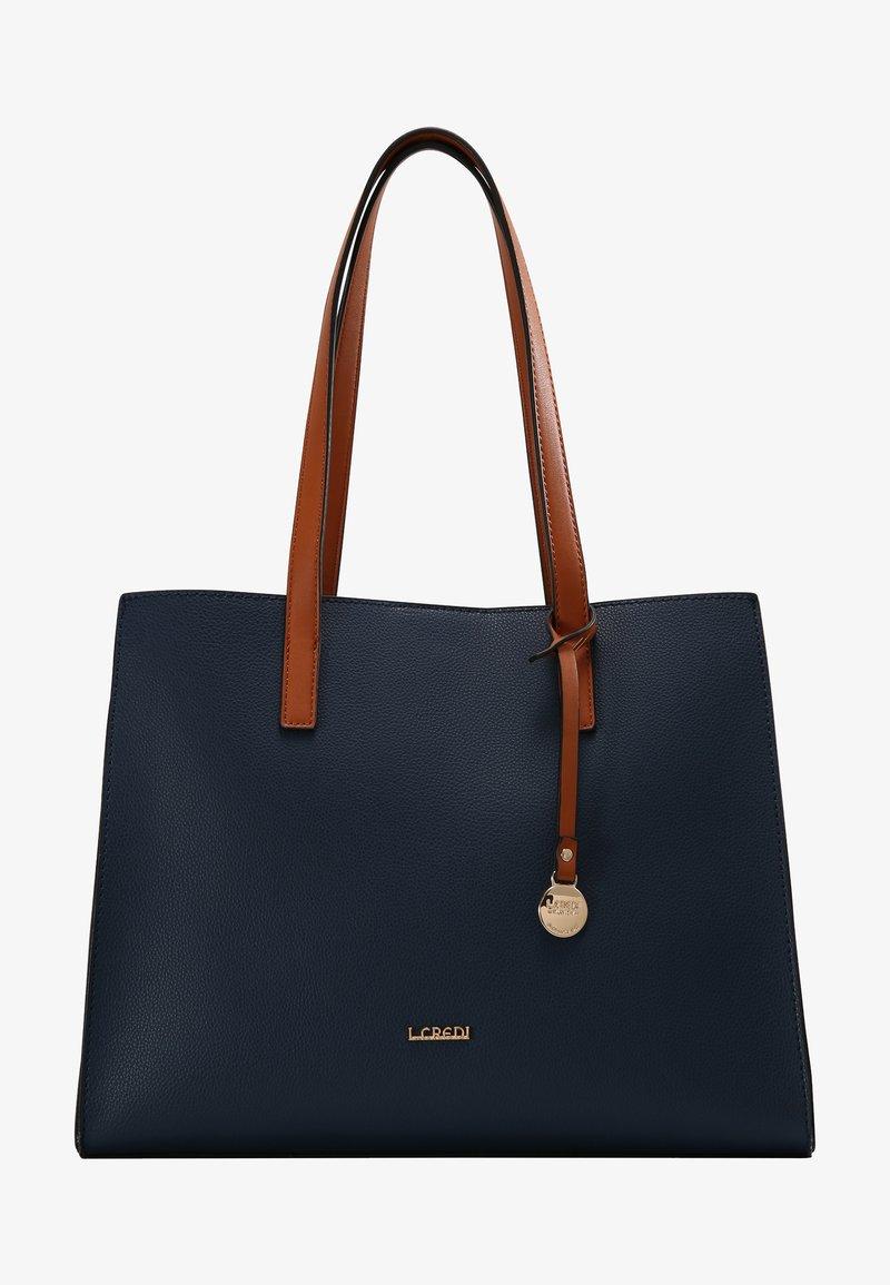 L.CREDI - ERPLEL - Handbag - marine