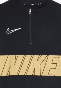 Nike Performance - DRY ACADEMY DRIL  - Sports shirt - black/gold/white - 4