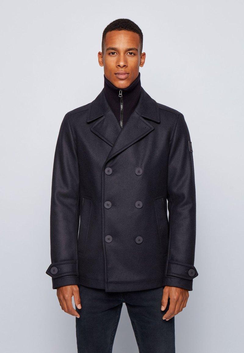 BOSS - Short coat - dark blue