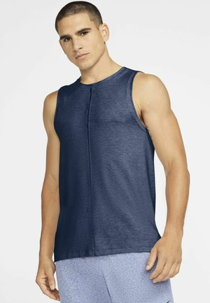 TANK  - Sports shirt - midnight navy/ashen slate/(black)