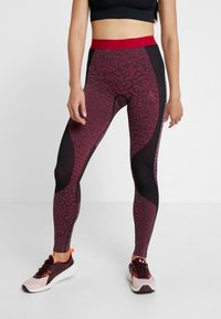 ODLO - BOTTOM PANT PERFORMANCE - Punčochy - black/cerise - 0