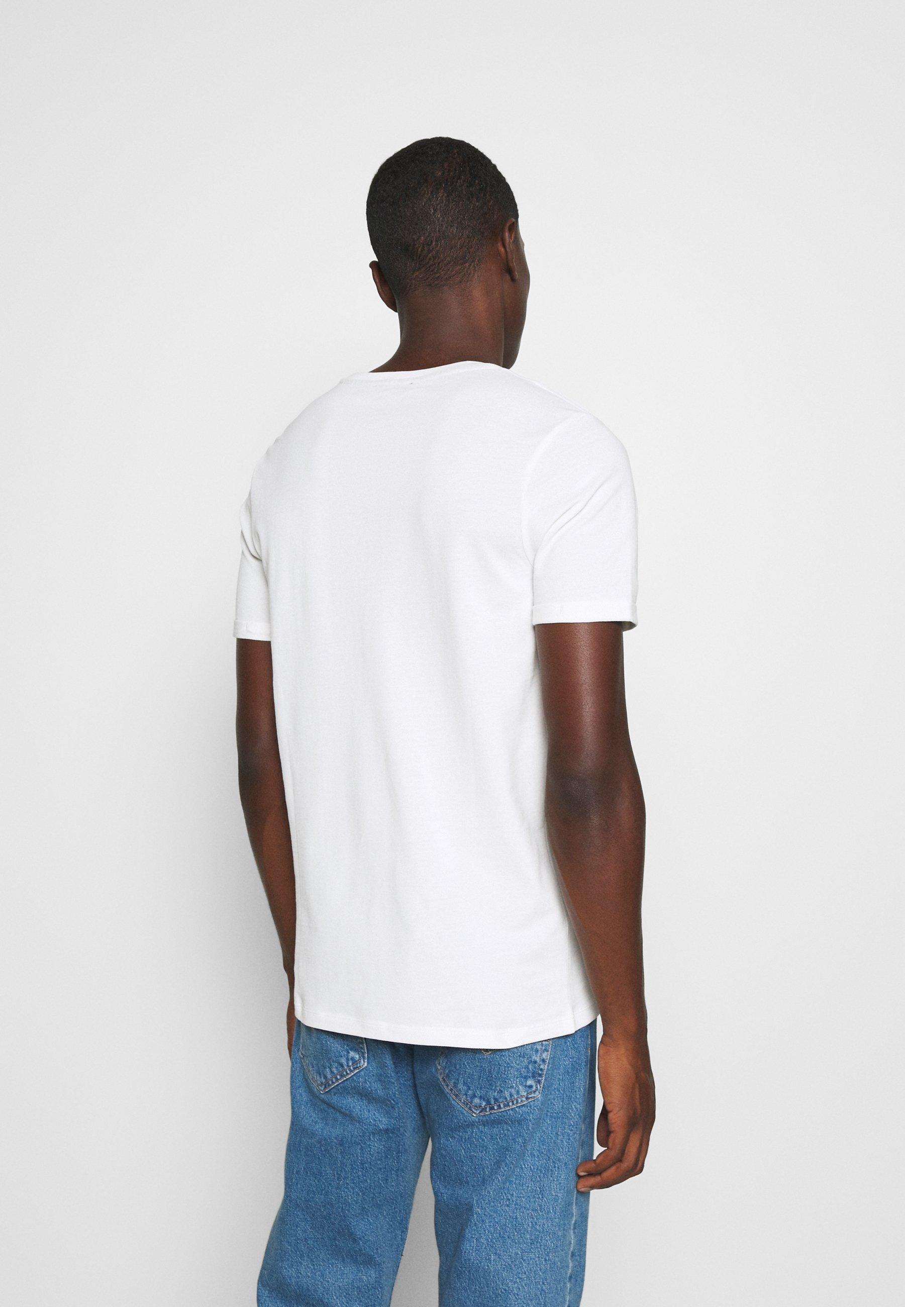 Jack & Jones PREMIUM JPRBLAHARDY TEE CREW NECK - Basic T-shirt - blanc de blanc ppjk1