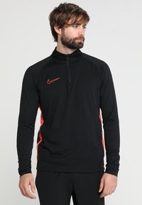 Nike Performance - DRY  - Funktionsshirt - black/ember glow - 0