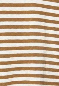 Marc O'Polo DENIM - LONGSLEEVE ROUNDNECK - Long sleeved top - multi/cinnamon bun - 2