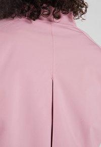 Cross Sportswear - BOMBER JACKET - Kurtka przeciwdeszczowa - old pink - 3
