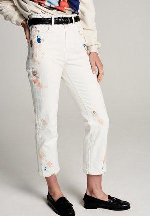 Straight leg jeans - offwhite
