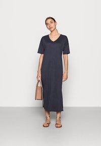 Saint Tropez - ABBIE DRESS - Jersey dress - blue deep - 1