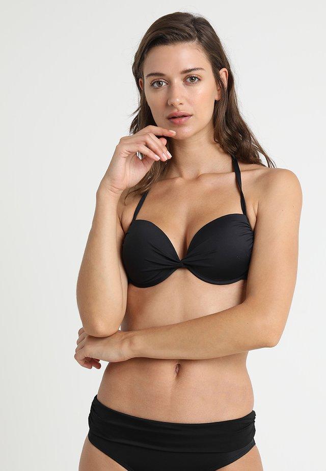 Haut de bikini - schwarz