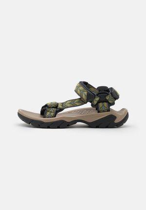 TERRA FI 5 UNIVERSAL - Chodecké sandály - presidio/dark olive