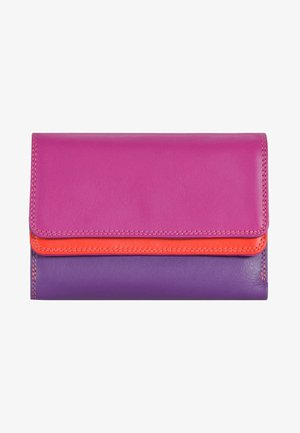 DOUBLE FLAP - Portemonnee - purple