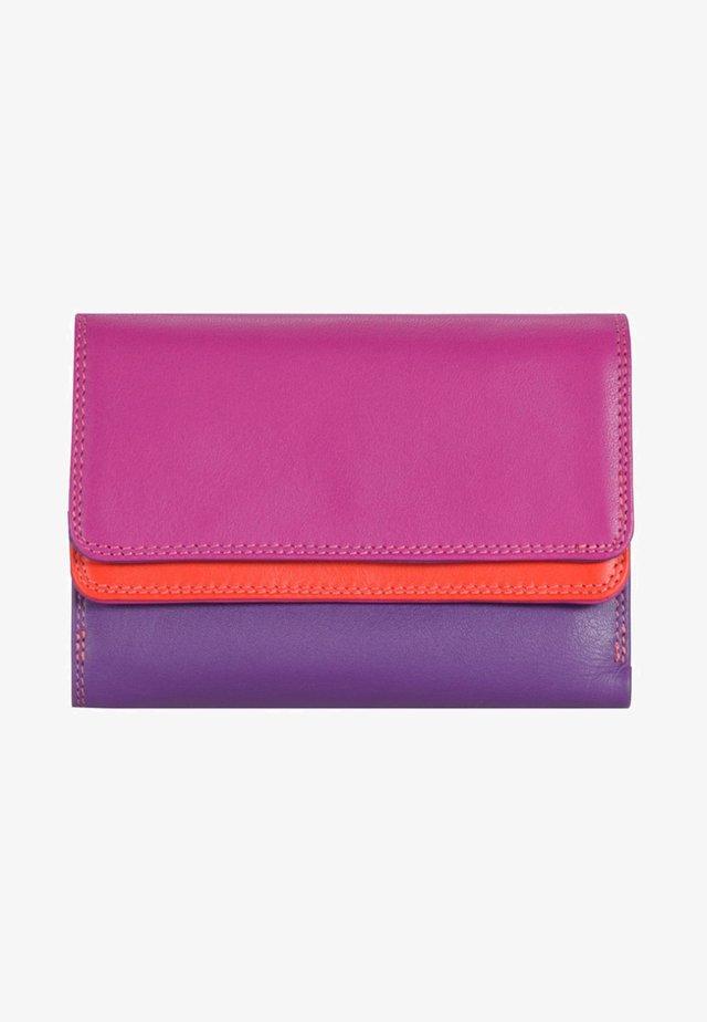 DOUBLE FLAP - Wallet - purple