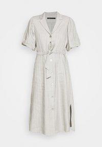 Expresso - DELANY - Shirt dress - steel grey melange - 4