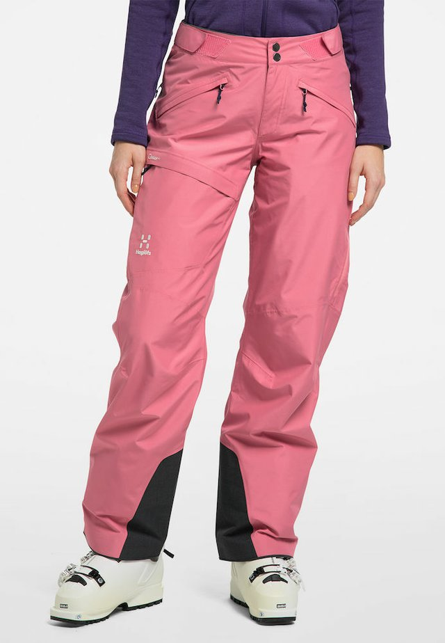 LUMI LOOSE PANT - Snow pants - tulip pink