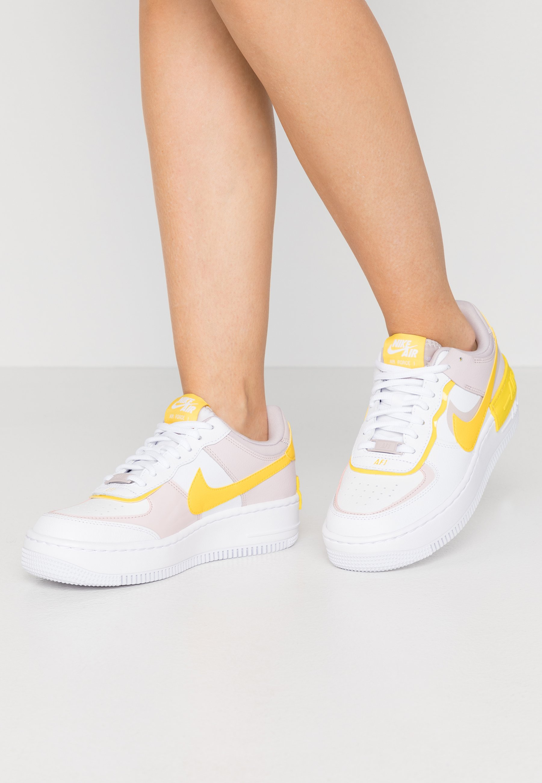 Nike Sportswear Air Force 1 Shadow Trainers White Speed Yellow Photon Dust Platinum Violet White Zalando Co Uk Sneakers air force 1 shadow di nike. air force 1 shadow trainers white speed yellow photon dust platinum violet