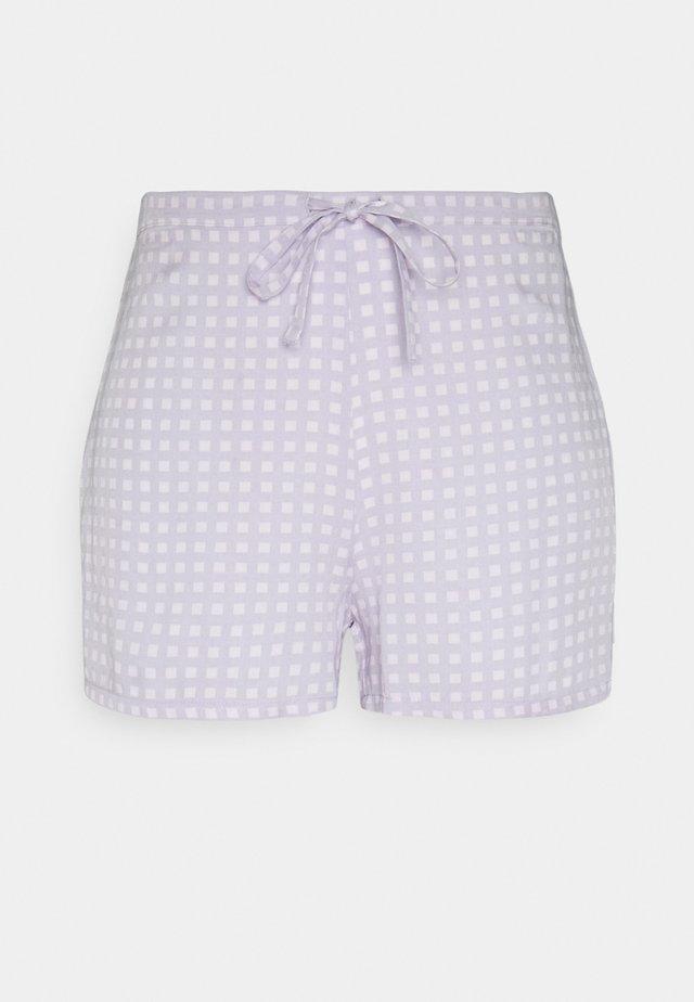 SLEEP SHORT - Pyjama bottoms - mauve parage