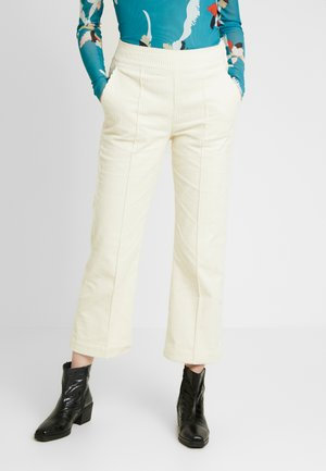 VIIVI PANTS - Trousers - antique white
