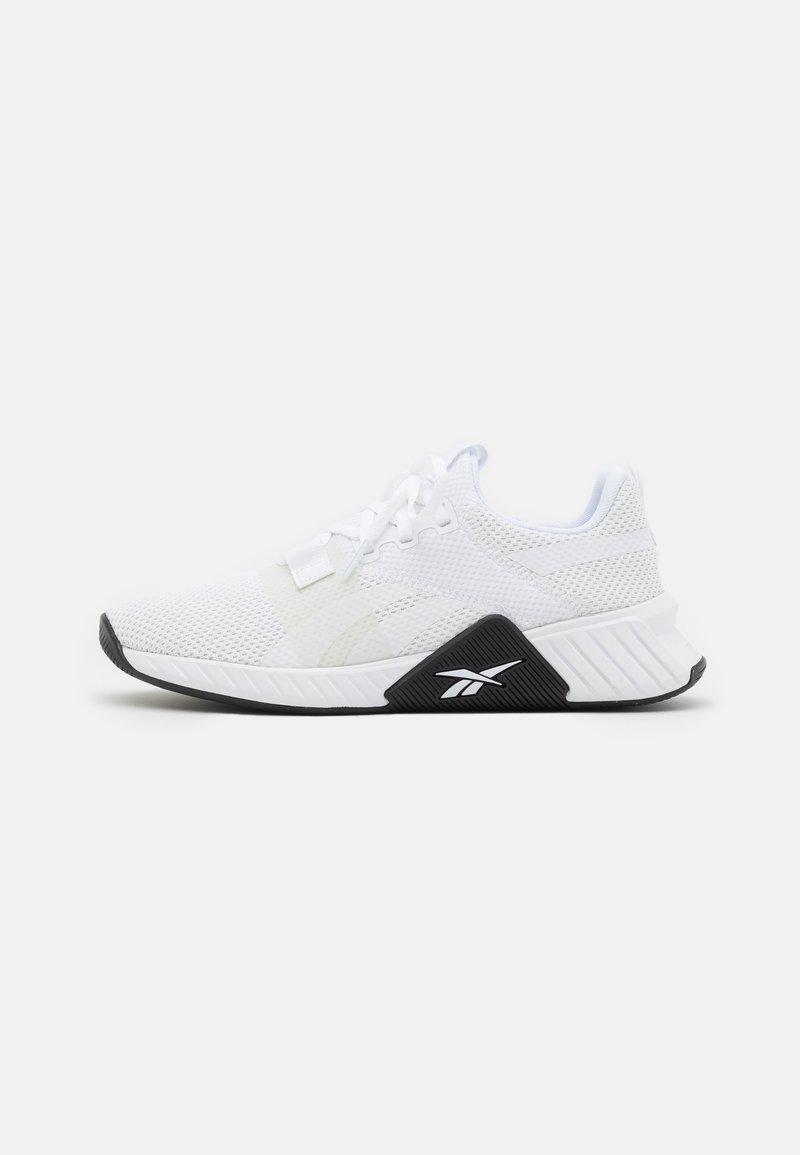Reebok - FLASHFILM TRAIN 2.0 UNISEX - Sports shoes - white/black