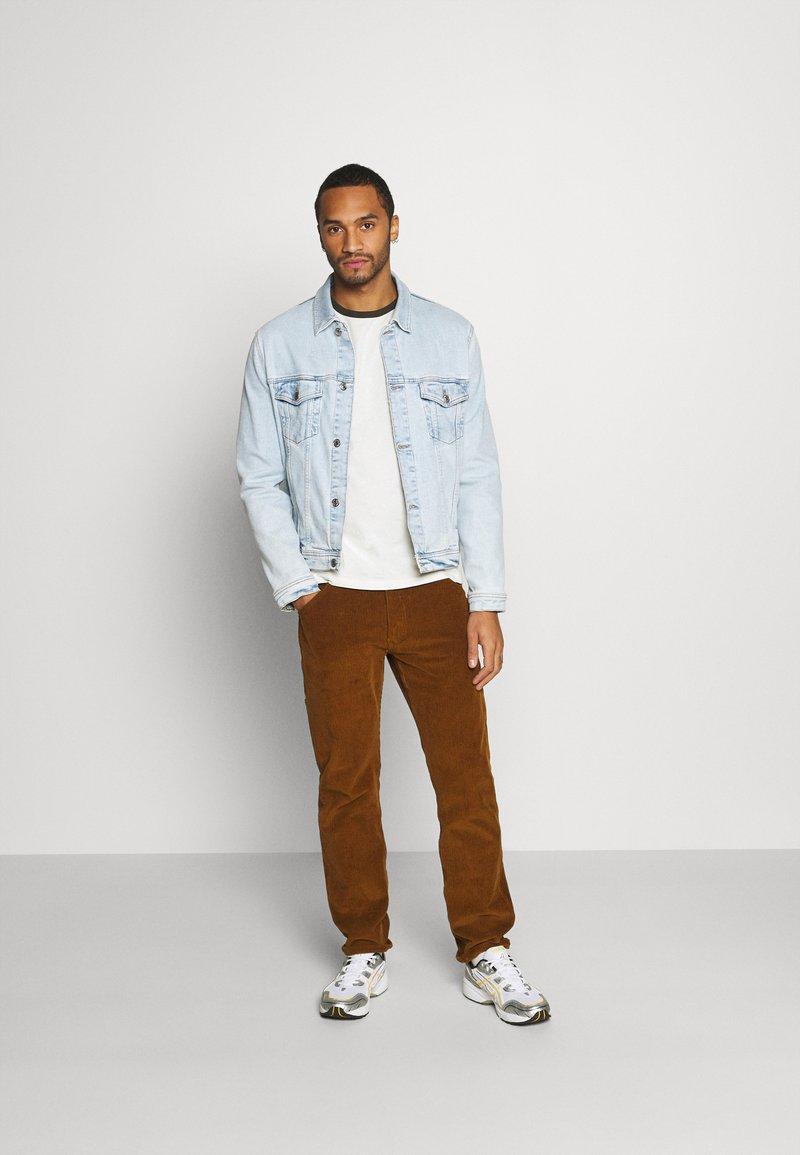 Burton Menswear London - LONG SLEEVE RAGLAN 2 PACK - Long sleeved top - grey marl