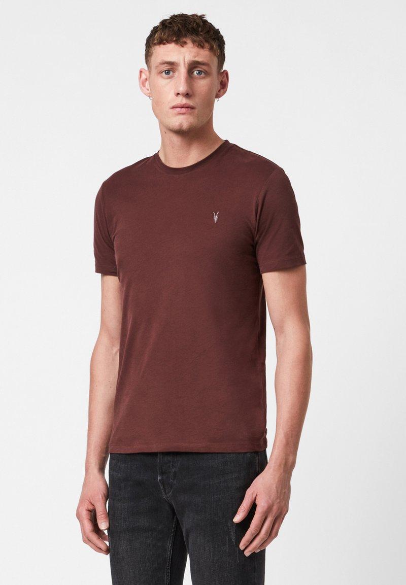AllSaints - BRACE - Basic T-shirt - red