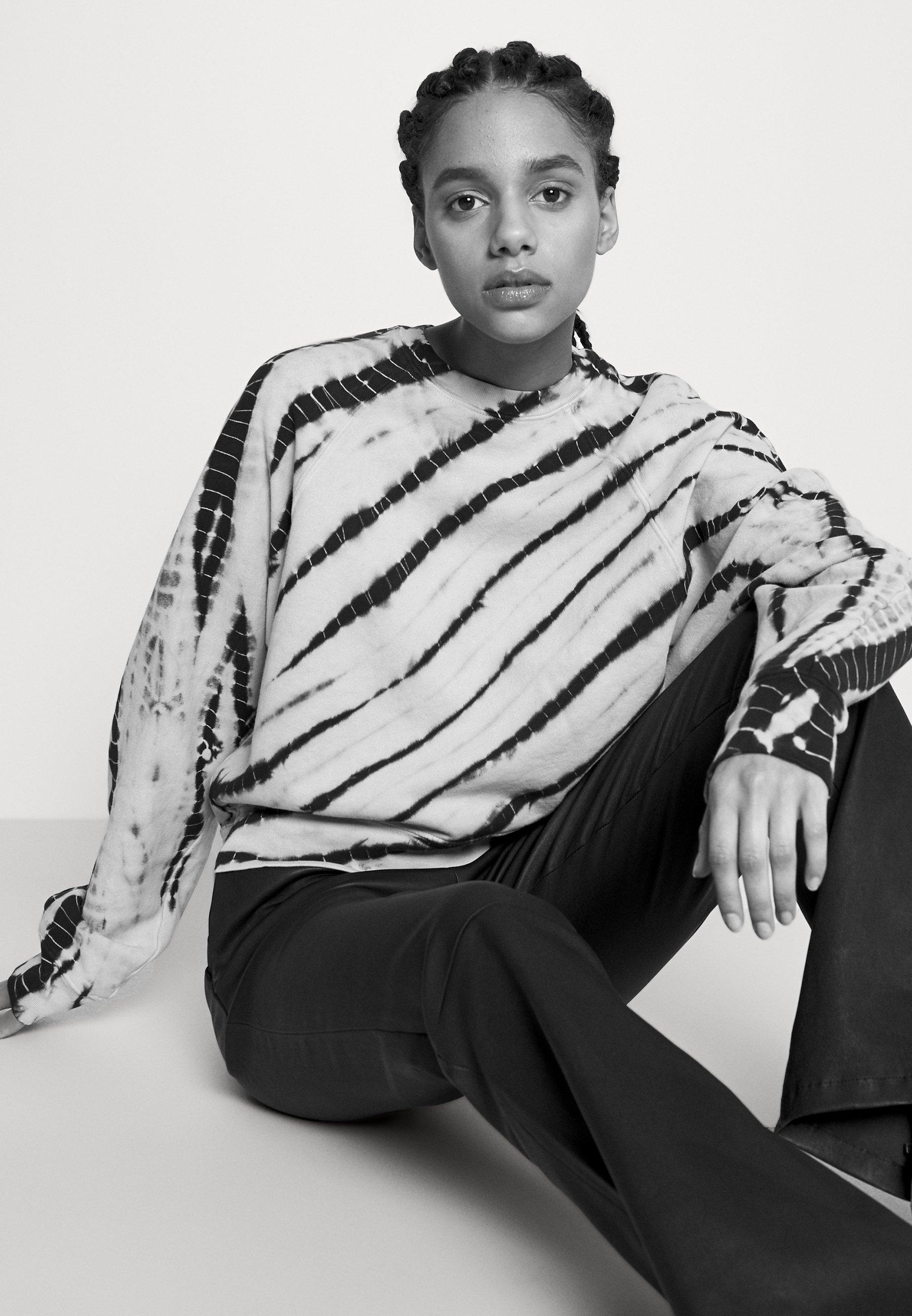 Women MODIFIED RAGLAN TIE DYE - Sweatshirt
