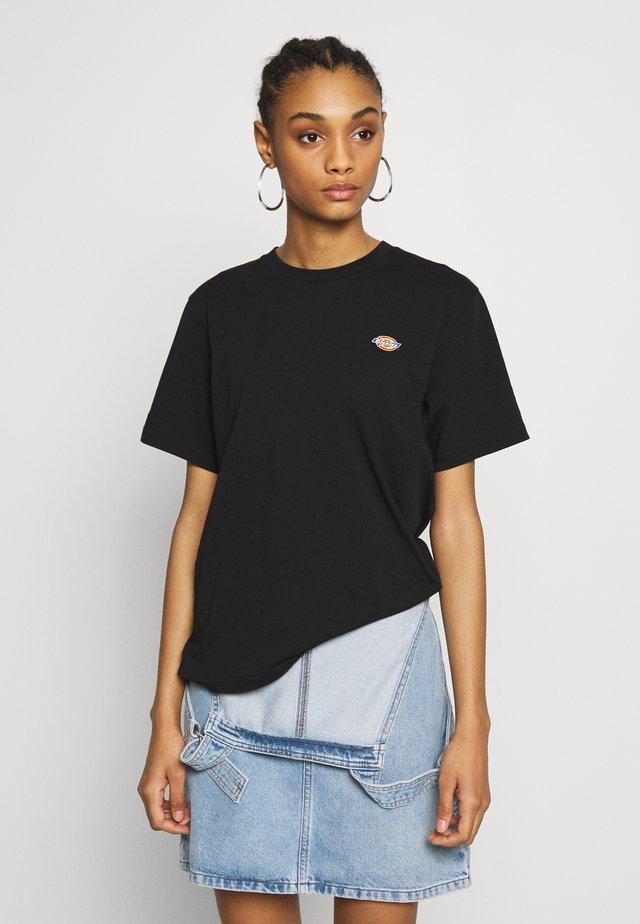 STOCKDALE - T-shirt basique - black