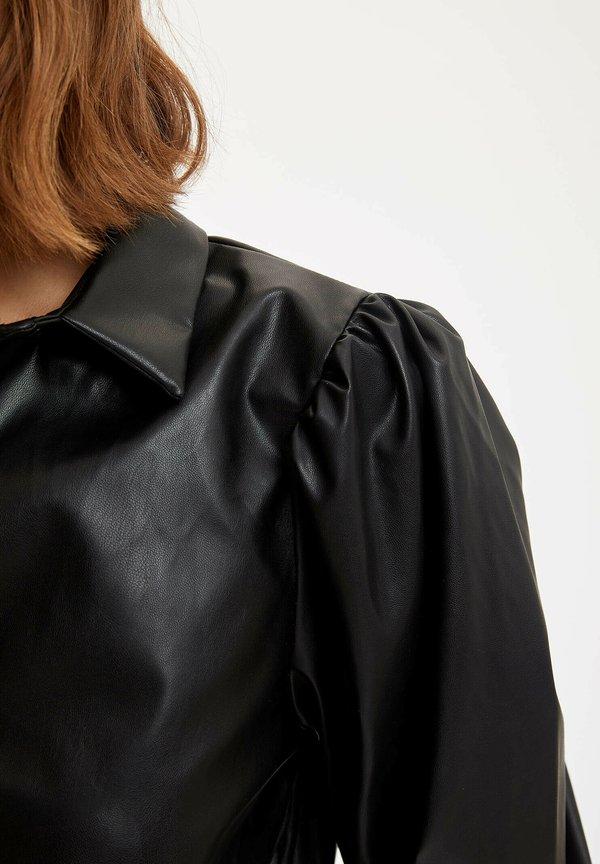 DeFacto Koszula - black/czarny DZSY