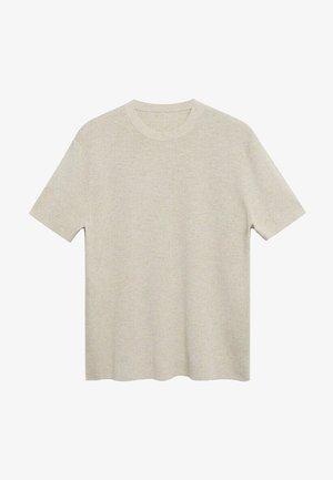 Basic T-shirt - beige