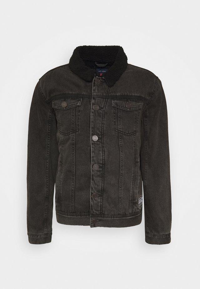 OUTERWEAR - Džínová bunda - denim black