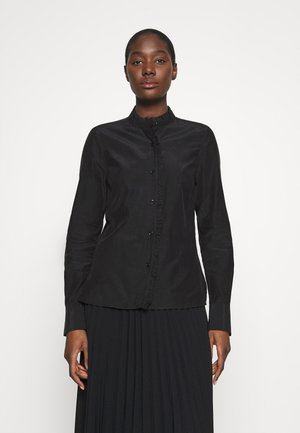 BLOUSE - Shirt dress - black dark