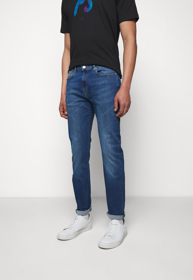 MENS  - Jean slim - blue denim