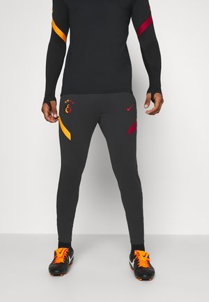 GALATASARAY ISTANBUL DRY PANT - Club wear - black/vivid orange/pepper red
