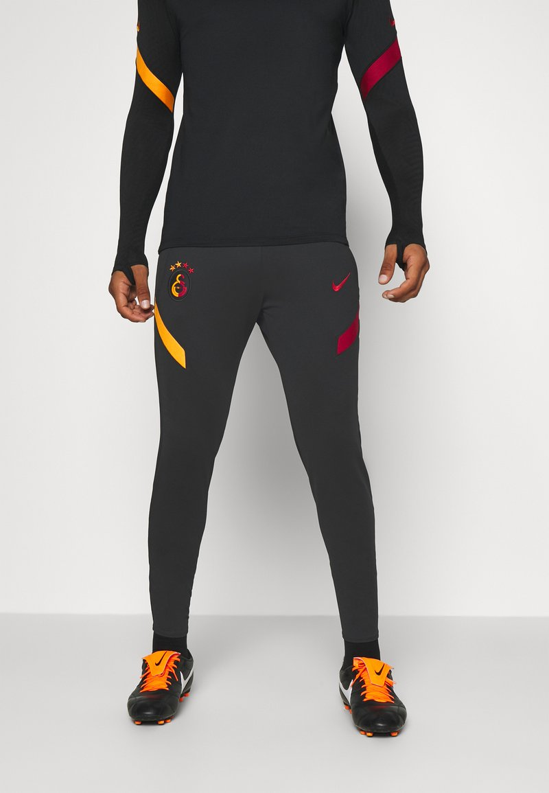 Nike Performance - GALATASARAY ISTANBUL DRY PANT - Equipación de clubes - black/vivid orange/pepper red