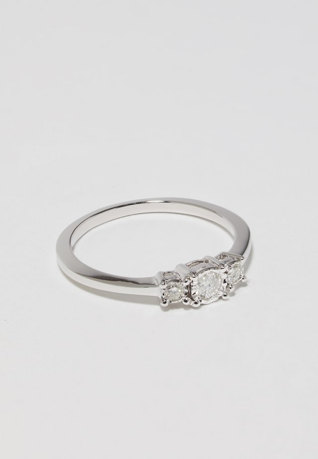 WHITE GOLD - Anillo - silver-coloured