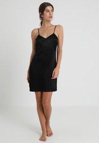 La Perla - REWARD SHORT SLIP DRESS - Nightie - black - 1