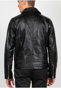 Freaky Nation - BLACK SELECT - Leather jacket - black - 2