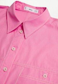 Mango - Button-down blouse - rose - 7